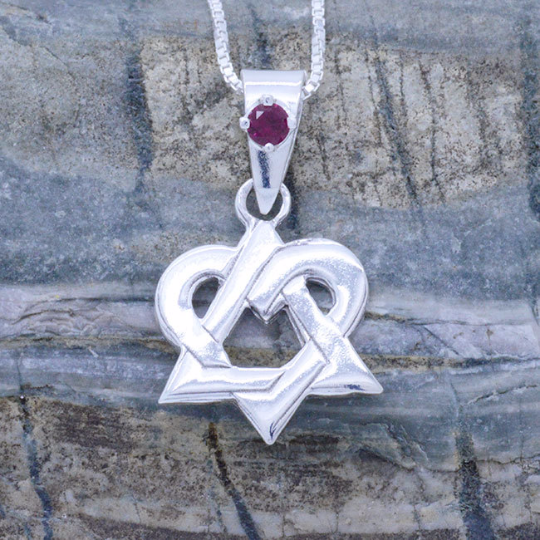 Sterling Silver Adoption Pendant
