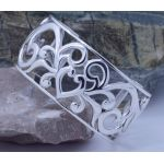 wide filigree cuff