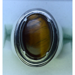 men tiger-eye ring
