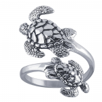 elephant headspoon ring