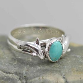 orca ring sterling silver Empty the tanks against captivity killer whale