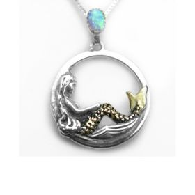 Silver & Gold mermaid