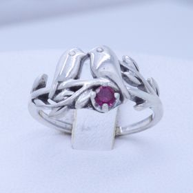 love birds ring