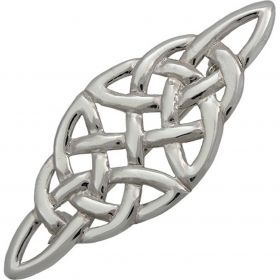 Handmade Sterling Silver Celtic filigree Brooch Pin