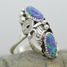Sterling silver Bug Ring